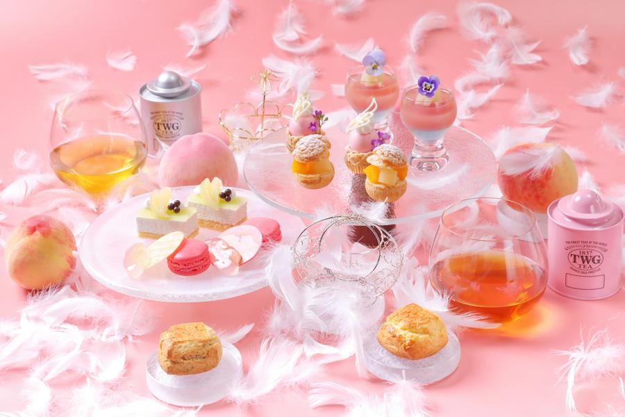 【PEACH PROMOTION】Angel Peach Afternoon Tea