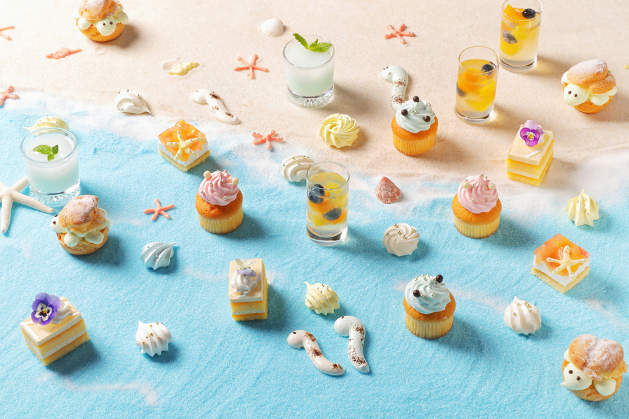 【Summer Fruit Dessert Buffet】Under the Sea