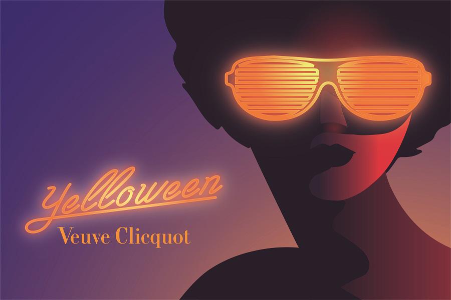 "Halloween Event 2021 ""Veuve Clicquot Yelloween Night"""